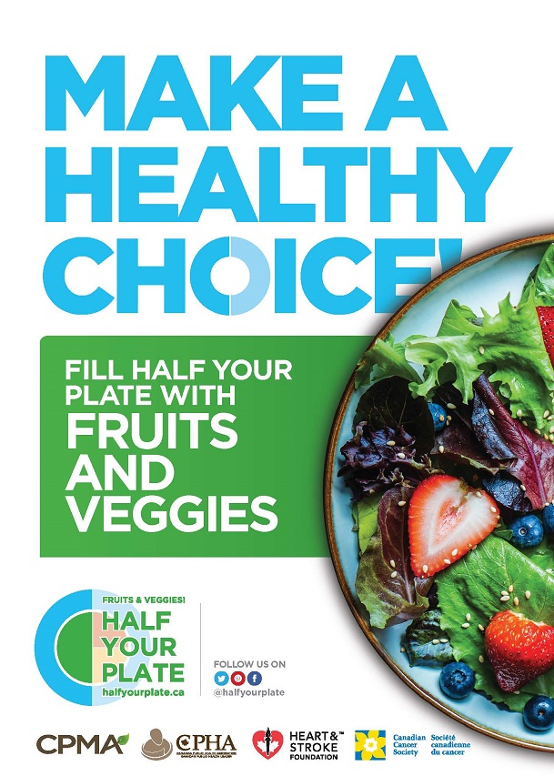 Fill Half Your Plate With Fruits And Veggies Bcfresh