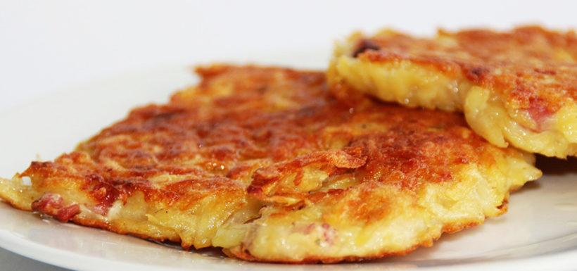 Potato Potato Fritter Egg Flour Kartoffelpuffer recipe