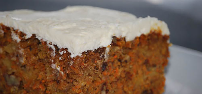 Carrot Cake Recipe - BC Fresh Vancouver