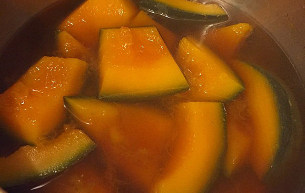 Braised Asian-Flavoured Kabocha Squash Recipe