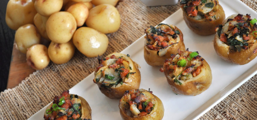 2013 Runner-up Winning Recipe – Chorizo & Kale Stuffed Warba Cups