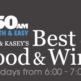 Tony & Kasey's Best of Food & Wine Show - October 9th