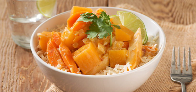 Root Vegetable Coconut Curry Recipe