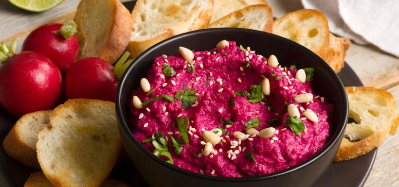 Beet Hummus 033 bc fresh vancouver